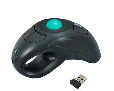 Sans fil doigt portatif usb laser trackball mouse souris pour pc portable ordinateur de bureau bo