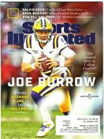 Sports Illustrated December 2019 Joe Burrow - QB - LSU Tigers - Heisman