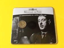 """""""70e Anniversaire de l'Appel du 18 juin""""   2€   2010"""