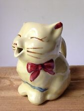 Vintage 1950's SHAWNEE PUSS N BOOTS creamer/pitcher Yellow - USA