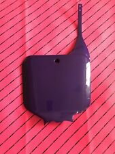 Cr 125 1995-1999 Ufo 95 Purple Front Plate Honda Super Evo