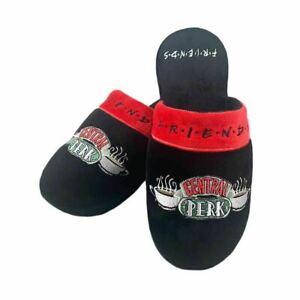 Women's Friends TV Series Central Perk Black Mule Slippers - One Size 5-7