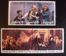 Mint US Stamps - 1629-31 Spirit of '76  & 1691-94 Declaration of Independence