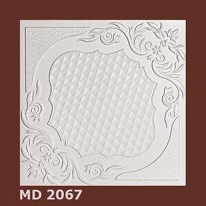 Deckenplatten Styroporplatten Decorplatten   -Neu-  MD 2067  1m²