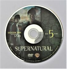 SUPERNATURAL - SEASON 1 DISC 5 REPLACEMENT DVD DISC ONLY