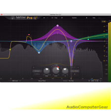 FabFilter PRO-Q 3 Equalizer Fab Filter EQ 2 Audio Software Plug-in NEW Version 3
