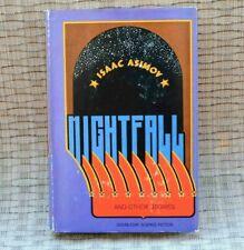 Isaac Asimov Nightfall signed autographed very good condition