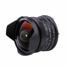 RISESPRAY 7.5mm F/2.8 APS-C Fisheye Lens for Panasonic Olympus M4/3 Mount camera