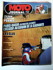 N°681 MOTO JOURNAL; Spécial Dakar/ Choper Kawa 125 HVA Enduro/ 750 Suzuki