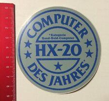 Aufkleber/Sticker: HX-20 Computer Des Jahres - Hand-Held-Computer (220416177)