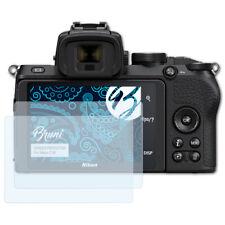 Bruni 2x Schermfolie voor Nikon Z 50 Screen Protector Displaybeveiliging