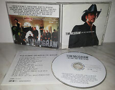 CD TIM McGRAW - LIVE LIKE YOU WERE DYING - JAPAN COCB-53286 + BONUS - NO OBI