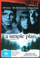 A Simple Plan (DVD) NEW/SEALED