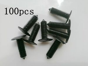 100X Bumper Fascia Retainer Clip Fastener 10185925 For GM Chevy For Pontiac Olds