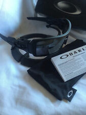 BRAND NEW OAKLEY OIL RIG MATTE Black Iridium SUNGLASSES 03-464 FREE USA shipping