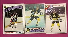 1976 1977 1978 OPC BRUINS JEAN RATELLE  CARD (INV# 9081)
