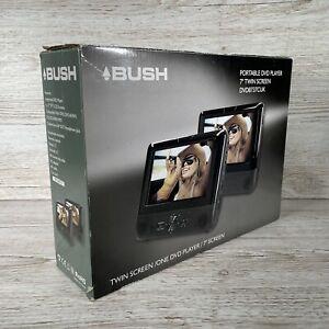 "BUSH 7"" Twin Screen In Car Portable DVD Player DVD8737CUK"