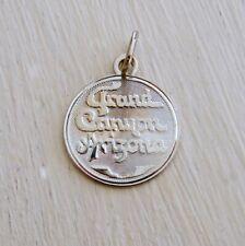 Grand Canyon Souvenir Travel Vintage Sterling Silver Bracelet Charm Arizona Crea