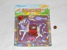 NEW Enchanted Kingdom MIKADO Horse Doll Toy 1987 Marchon Sealed white micado