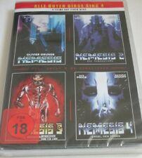Nemesis 1 2 3 4 - DVD/NEU/OVP/SciFi-Action/uncut/Sue Price/CCC/FSK 18