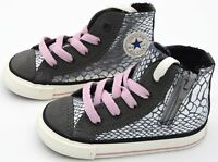CONVERSE ALL STAR BAMBINA SCARPA SNEAKER SPORTIVA ART. CT SIDE ZIP HI 746381C