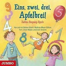 Eins, zwei, drei, Apfelbrei! *CD*NEU*