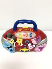 Mattel Blues Clues Red Mini Boombox Radio Lights Music 2000