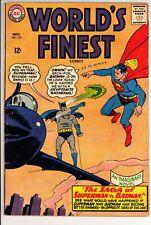 Worlds Finest Comics #153 VG+ DC (1965) -Batman Slaps Robin Meme -Silver Age