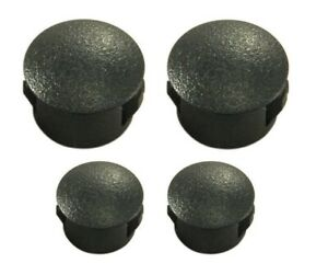 1999-2004 Mustang Spoiler Delete Hole Plugs - PAINTED - Mineral Gray - TK