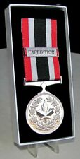 Canadian - The Special Service Medal (SSM) & Expedition Bar Full Size