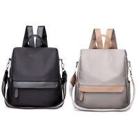 Women Nylon Backpack Purse Waterproof Anti-Theft Rucksack School Shoulder Bags