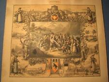 Original-Lithographien (1800-1899) aus Schweiz