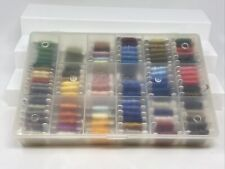 Lot 97 DMC Flower Threads Numbered Bobbin Cards Skein Cross Stitch Embroidery