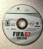 FIFA Soccer 07 (Microsoft Xbox 360, 2006) Video Game Disc Only 2006