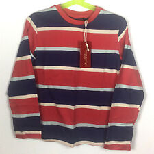 NWT American Vintage By Eland Boys' Long Sleeve Stripe Shirt Size 6