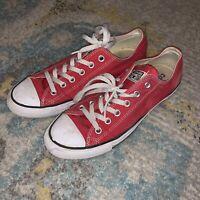 Converse All Star Chuck Taylor Low Top Unisex Men's 7 / Women's 9 Shoes