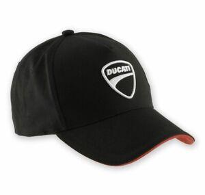 Genuine Ducati Company 14 Cap, Hat, 987688704, Baseball, Official Apparel, Black