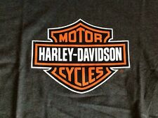 Harley Davidson dark gray Bar And Shield Shirt Nwot Men's medium