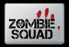 Zombie Squad Sticker Apple Mac Book Air/Pro Dell Laptop Decal Undead Blood Car