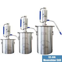 12-60L Moonshine alambic cuivre encore spiritueux distillateur