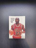 Michael Jordan 1990 NBA Superstars Basketball Promo Card Chicago Bulls Lot of 24
