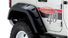 BUSHWACKER MAX COVERAGE FENDER FLARES 07-17 JEEP WRANGLER JK UNLIMITED REAR SET