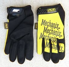 Mechanix (Yellow) Off Road Mechanic Garden Work Full Finger Gloves S M L XL