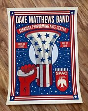 Dave Matthews Band Drive In Concert Poster Saratoga Performing Arts 7/21/19