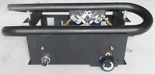 New Gas Fireplace Burner With SIT 630 Eurosit Valve, Natural Gas, Propane, LP