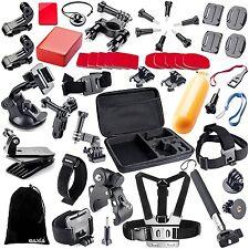 44-in-1 Accessories Kit Essential GoPro Hero 5/4/3/2/1 Session Hero Bundle Black