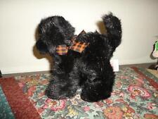Russ Berrie SCREECH HALLOWEEN Black CAT Sparkly Plush Handmade