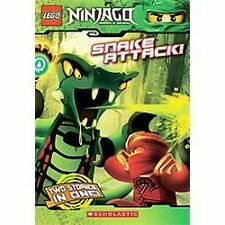 Snake Attack! (LEGO Ninjago: Chapter Book): By West, Tracey