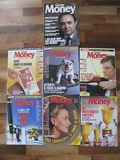 rivista GENTE MONEY, 7 numeri: luglio 1987 e 6 numeri del 1990