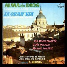 ALMA DE DIOS (Sainete) / LA GRAN VIA (Zarzuela) - SPAIN LP Columbia 1959 - 33rpm
